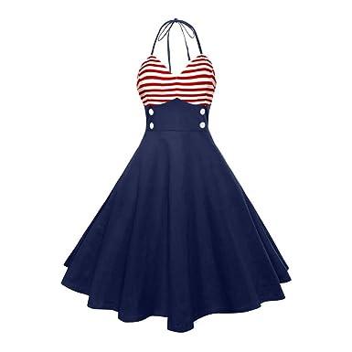 5d9381b6abcec4 Women American Flag Dress