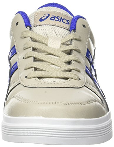 asics Aaron Blue Baskets feather Asics Grey Gris Adulte Basses Mixte 8PwWqHB1x