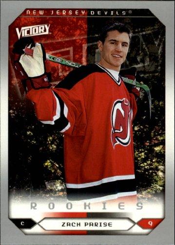 2005 Upper Deck Victory Hockey Rookie Card (2005-06) #268 Zach Parise Near (Victory Hockey Cards)