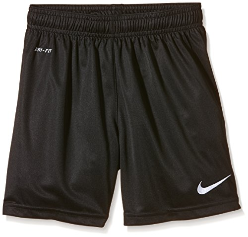 NIKE Jungen Shorts Park II Knit, Black/White, XL, 448263-010