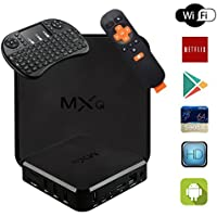 Android 6.0 TV Box MXQ PRO 4K Amlogic S905X Quad-Core Wi-Fi Box with Wireless Mini Keyboard