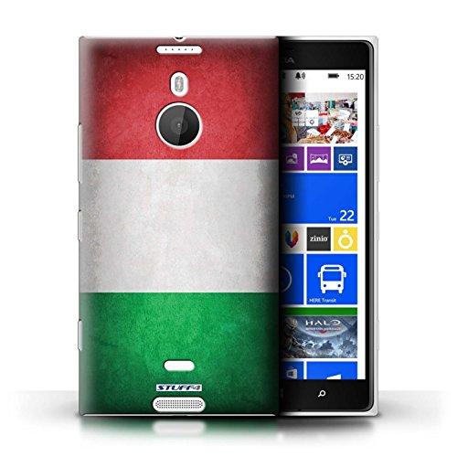 Kobalt® Imprimé Etui / Coque pour Nokia Lumia 1520 / Italie/italien conception / Série Drapeau