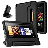 5x7 display case - AFUNTA Fire 7 2015 Case,Light Weight Shock Proof Convertible Handle Stand EVA Protective Kids Case for Amazon Fire 7 inch Display Tablet (5th Generation - 2015 Release Only)-Black
