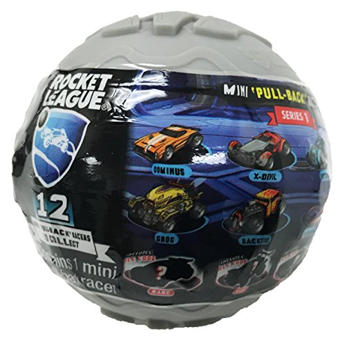Rocket League Mini Pull-Back Racer Car Mystery Ball 1-Pack