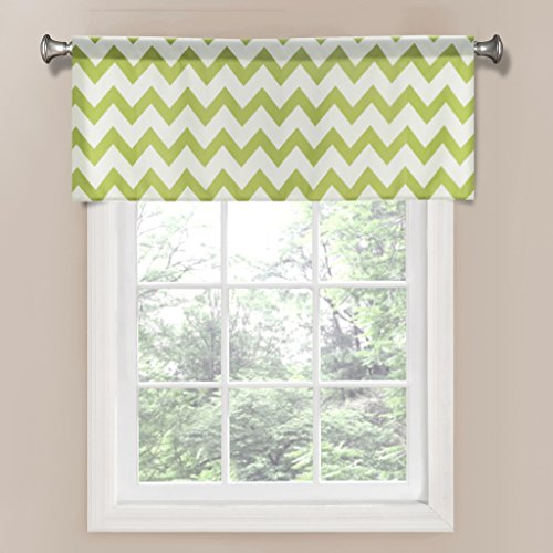 FlamingoP Vivid Color Chevron/Zig-Zag Window Curtain Valance 51