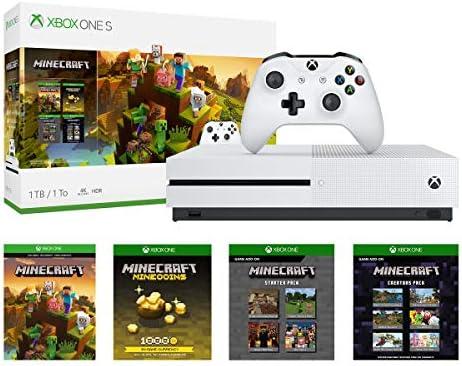 Amazon com: Xbox One S 1TB Console - Minecraft Creators