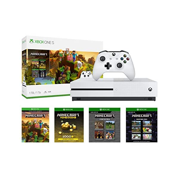 Xbox One S 1Tb Console - Minecraft Creators Bundle (Discontinued) 1