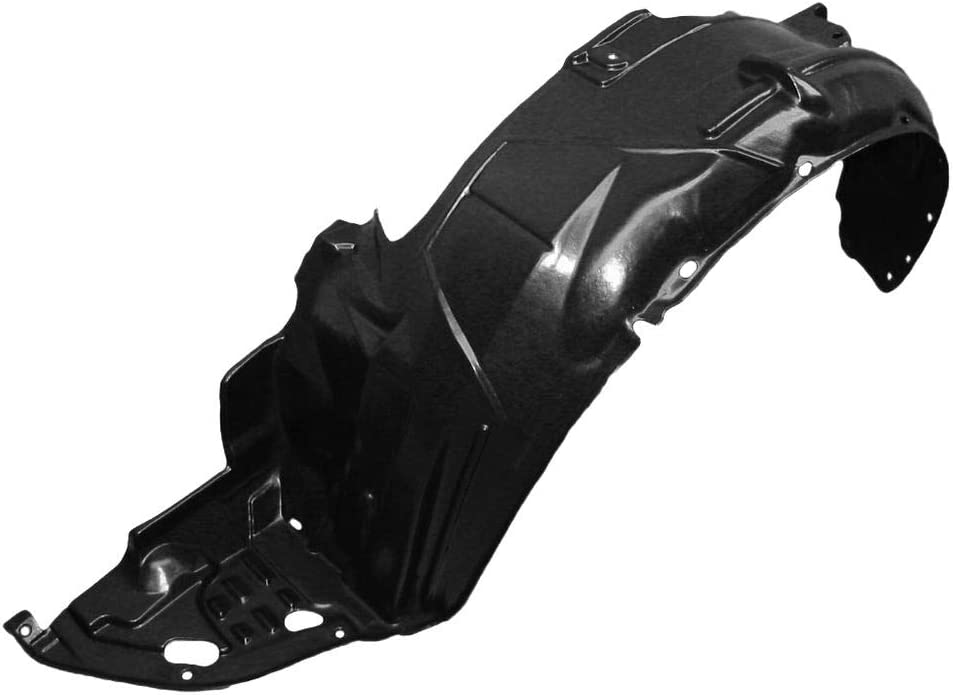 Partslink Number HO1248117 OE Replacement Honda Accord Front Driver Side Fender Inner Panel