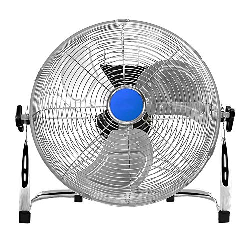 Mini Fan, Electric Fan, High-Power Large Air Volume Industrial Fans Factory Workshop Air Circulation Fan GAOFENG (Color : Silver, Size : 10 inches - 30 cm) ()