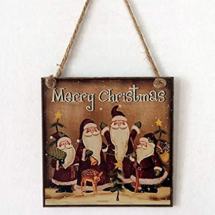 FinukGo Decoración de Fiesta de Navidad Felices Fiestas ...