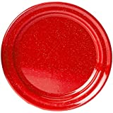 "GSI Outdoors Red Graniteware 12.5"" Platter"