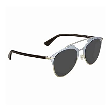 9022f2b134 Image Unavailable. Image not available for. Color  Dior Reflected TK1IR  Light Blue Reflected Round Sunglasses