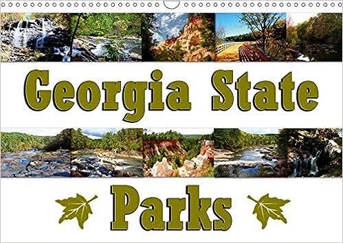 Georgia State Summer Classes 2020.Georgia State Parks Wandkalender 2020 Din A3 Quer Georgia