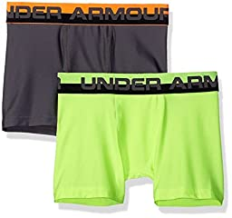 Under Armour Boys\' Original Series Boxerjock Novelty 2-Pack (Youth X-Small)