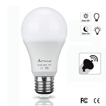 Sensor lights bulb anikuv 7w smart automatic dusk to dawn led bulb sensor lights bulb anikuv 7w smart automatic dusk to dawn led bulb with auto on workwithnaturefo