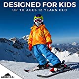 AEROSSI Balaclava Kids Ski Mask, Full Face Mask