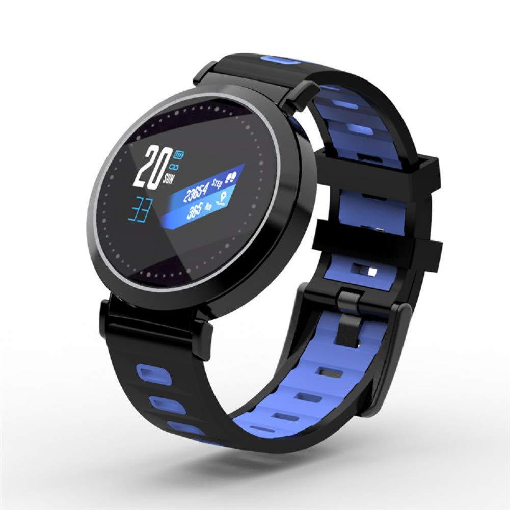 Bleu ZKGLFJC&ZL Fitness Tracker Poignet Moniteur de Fréquence Cardiaque Bracelet Intelligent Bracelet Smartbracelet Pression Artérielle avec Podomètre Montres Bracelet
