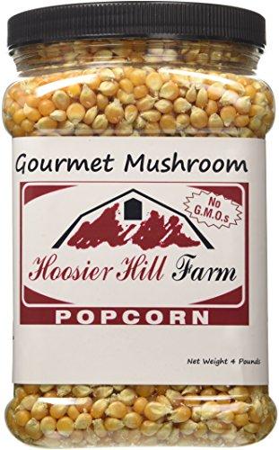 Hoosier Hill Farm Gourmet Mushroom, Popcorn Lovers 4 lb. Jar.