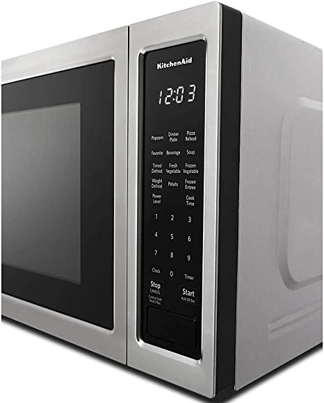 Amazon.com: KitchenAid 1.6 Cu Ft. Microondas en acero ...