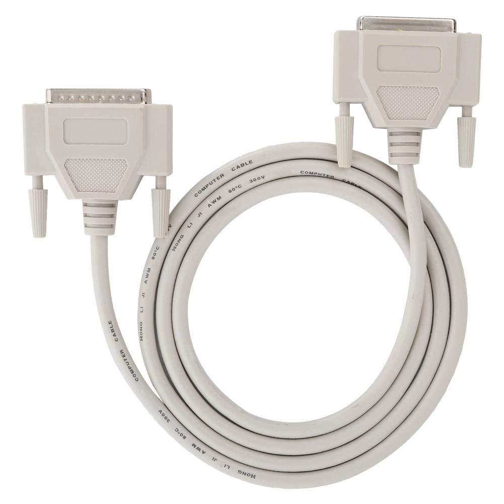 ASHATA Cable Serie DB25 Cable de Extensión de 25 Pin Copiadora ...