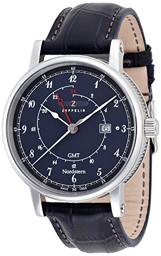 ZEPPELIN watch Norudosutan navy dial 75463 Men's [regular imported goods]