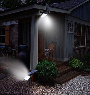 Light Solar Calle Luz Exterior Impermeable Enchufe Luz Césped Luz Jardín Jardín Spotlight,Whitelight: Amazon.es: Hogar