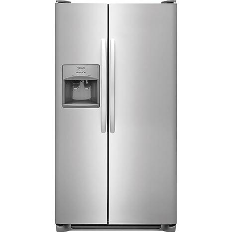 Amazon Frigidaire Ffss2615ts 36 Inch Side By Side Refrigerator