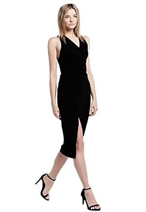 StyleStalker Florence Midi Dress in Noir