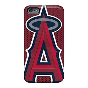 Apple Iphone 6s Plus Hard Back With Bumper Silicone Gel Tpu Case Cover Los Angeles Angels Of Anaheim