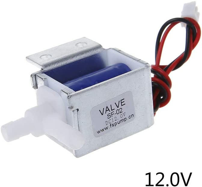 DC 6V Small Electric Solenoid Valve N//C Normally Closed for Gas Air Valve New