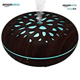 Smart Aroma Diffuser Humidifier Works with Amazon Alexa, 350ml...