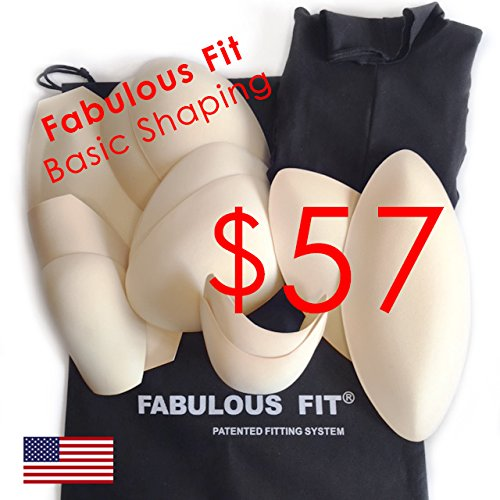 Fabulous Fit Dress Form Fitting System Basics | Essential Shaping System and Princess Cover. Available in every size! Bring any dress form to life!, X-Large
