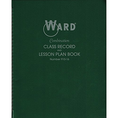 THE HUBBARD COMPANY CLASS RECORD & LESSON PLAN COMBO (Set of 12)