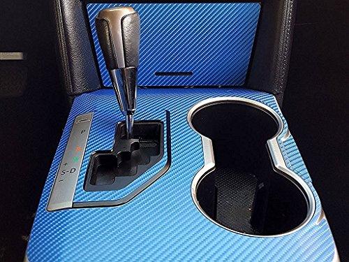 Rdash Dash Kit Decal Trim for Chrysler Crossfire 2004-2008 Carbon Fiber 4D Black