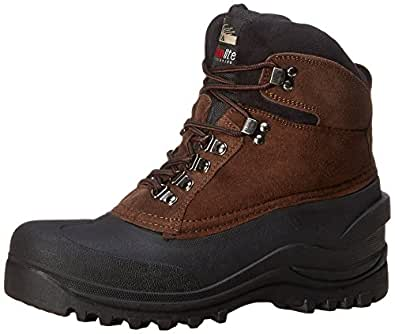 Itasca Men's Ice Breaker Ski Boot, Brown, 7 M US