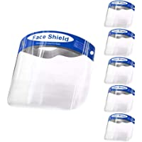 antivaho antipolvo Visera de protecci/ón completa con pantalla facial antiara/ñazos ajustable ligera transparente