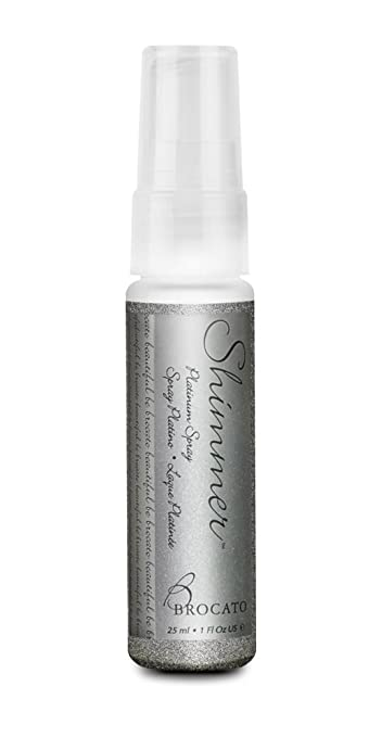 Brocato Hair and Body Shimmer Spray: Add a Subtle Sparkle to Your Hair, Skin or Clothes with this Glittery...