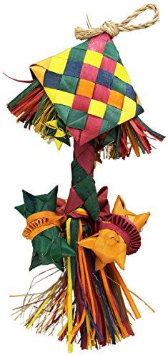 Planet Pleasures Bird Rattle Piñata Bird Toy, Small by Planet Pleasures