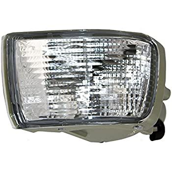 Driver and Passenger Park Signal Rear Bumper Reflector Marker Lights Lamps Replacement for Toyota SUV 81590-60141 81580-60111