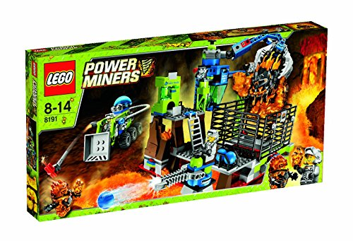LEGO? Power Miners Lavatraz 8191