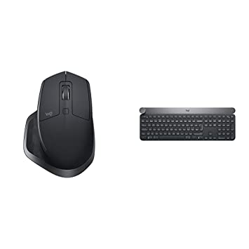 ca27fdbee5a Logitech MX Master 2S Wireless Bluetooth Mouse for Mac and Windows -  Graphite + Logitech Craft