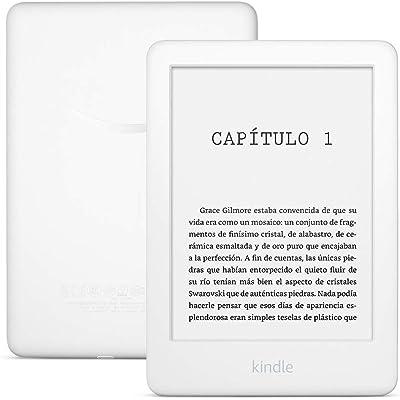 Kindle, ahora con luz frontal integrada, blanco