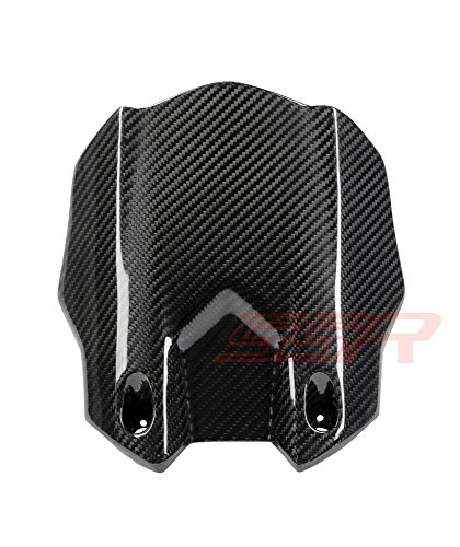 ((2015-2017) Yamaha YZF R1 / R1S / R1M / FZ10 / MT10 (100%) Twill Carbon Fiber Rear Hugger Splash Guard Mudguard Fairing [Same Weave Pattern & Gloss Finish As the Yamaha YZF-R1M])