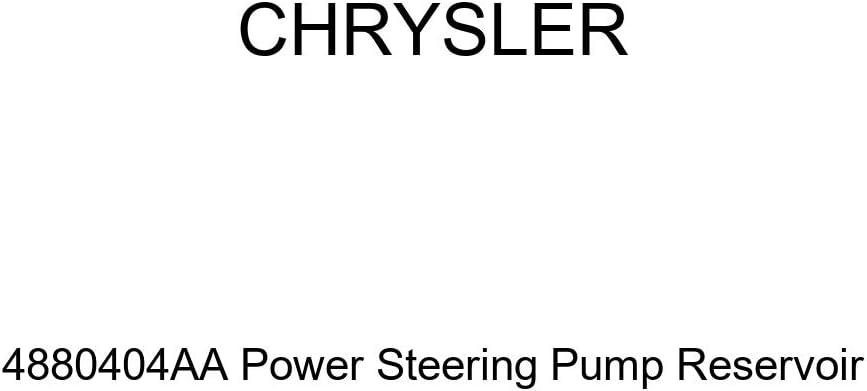 Genuine Chrysler 4880404AA Power Steering Pump Reservoir