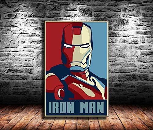 Lihuaiart Iron Man,Superheroes,Art Home Wall Decoration