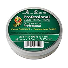 Duck Brand 299014 Professional Grade Electrical Tape, 3/4-Inch by 66 Feet, Single Roll, Green