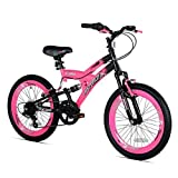 Girls 20 Inch Avigo Air Flex Dual Suspension Bike