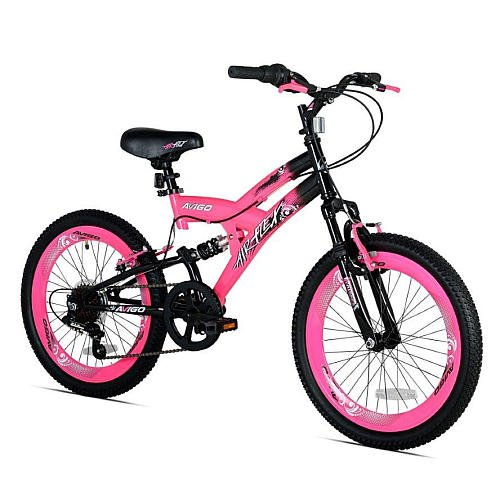 Girls 20 Inch Avigo Air Flex Dual Suspension Bike by Avigo Air