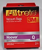 hoover type q vacuum cleaner bags - Hoover Type Q Vacuum Cleaner Bags by Filtrete