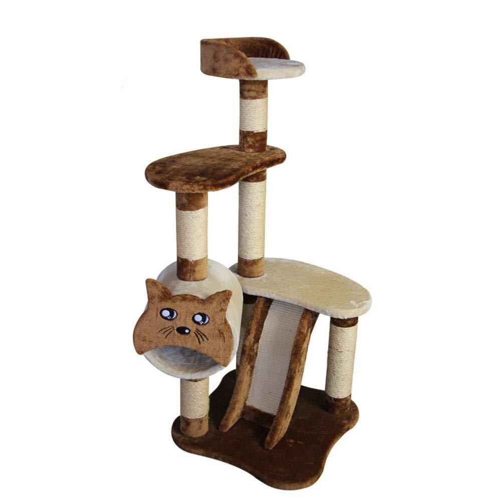 Hexiansheng Cat Climb Trees Pet sisal Cat rack cat litter jumping cat scratch post Cat 50  50  118cm